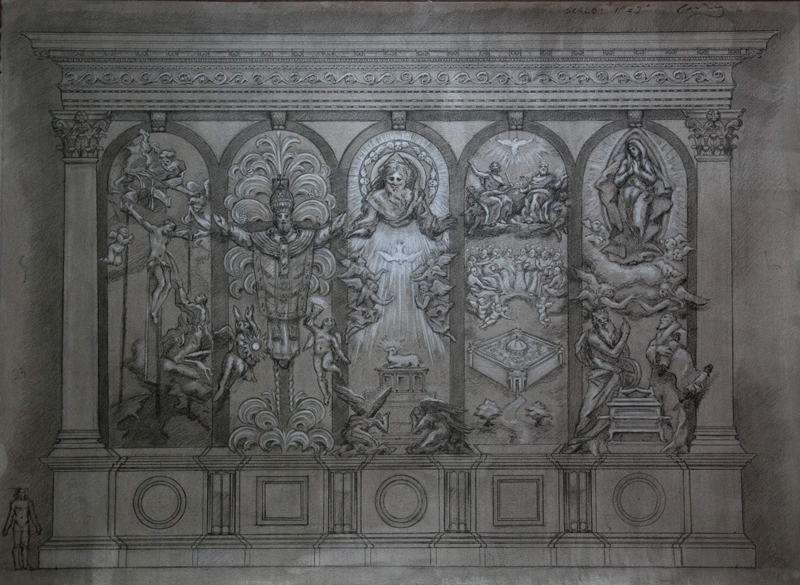 Reredos for St. Charles Borromeo Capital Campaign